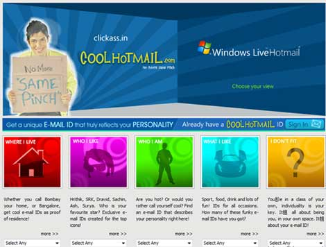 coolhotmail